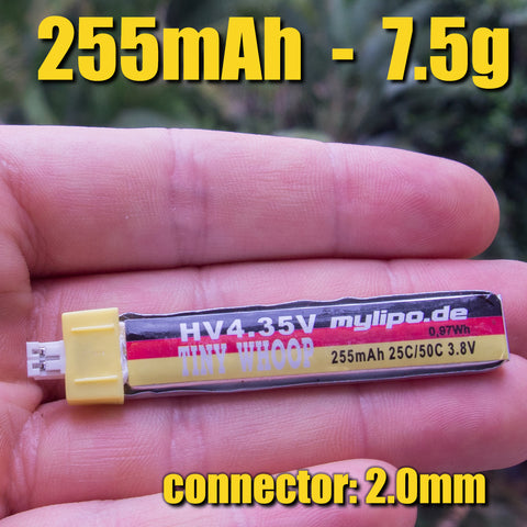 mylipo HV 255mAh/25C 1S - High Voltage - PH2