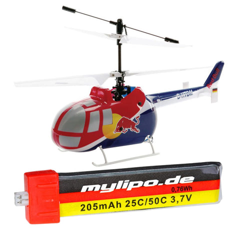 upgrade battery for Red Bull BO-105 CB CX Helicopter (BLH2800)