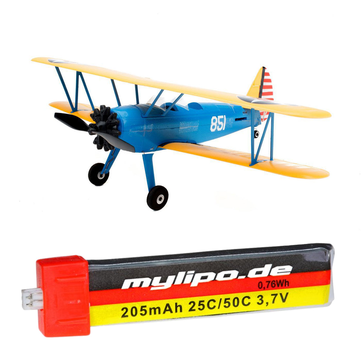 upgrade battery for UMX PT-17 (EFLU3080)