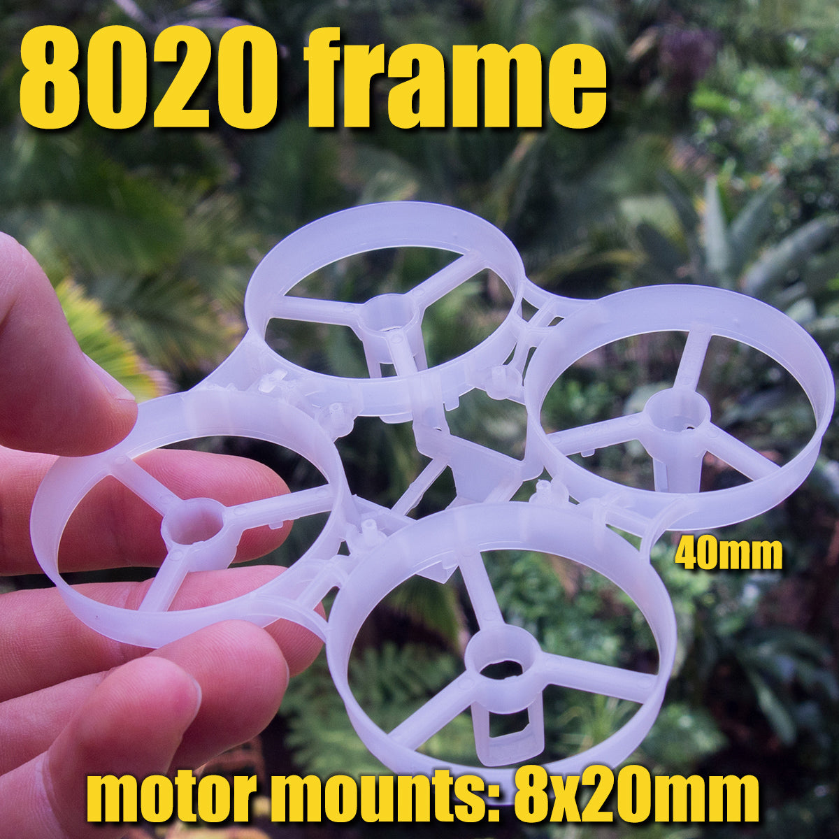 8020 Whoop frame (Beta75S)