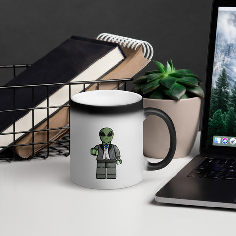 """Sir Alien"" Magic Mug"