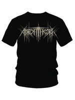 T-Shirt: Unisex SS Black - Death Metal Logo Discharge T-Shirt