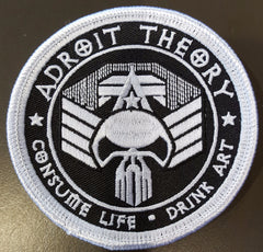 Adroit Theory Consume Life Skull Patch