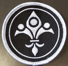 Adroit Theory Small Fleur De Lis Patch