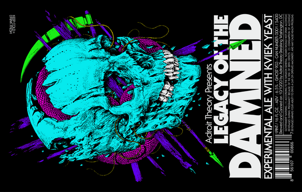 Cans: PRE-ORDER Legacy of the Damned - Experimental Ale with Kviek Yeast