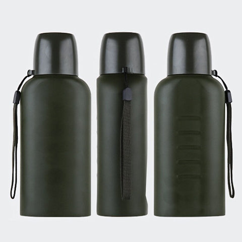 Stainless Steel Vacuum Flask Insulated Water Bottle (500ml) - Le Kolibri Gift Ideas Reusables Ecofriendly Ecoconscious Environment Stylish