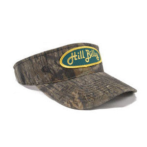 "The ""Mossy Oak"" HillBilly Camo Visor"