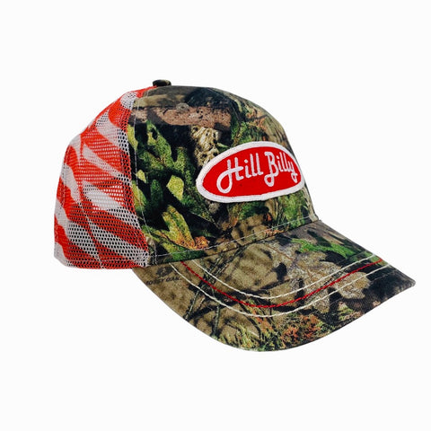 HillBilly Camo Flag Trucker Hat