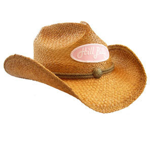Shapable Cowboy Hat w/Pink Patch