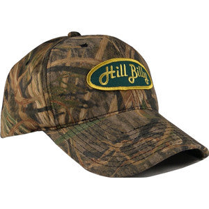 Mossy Oak Shadow Grass Trucker Hat with Green Patch