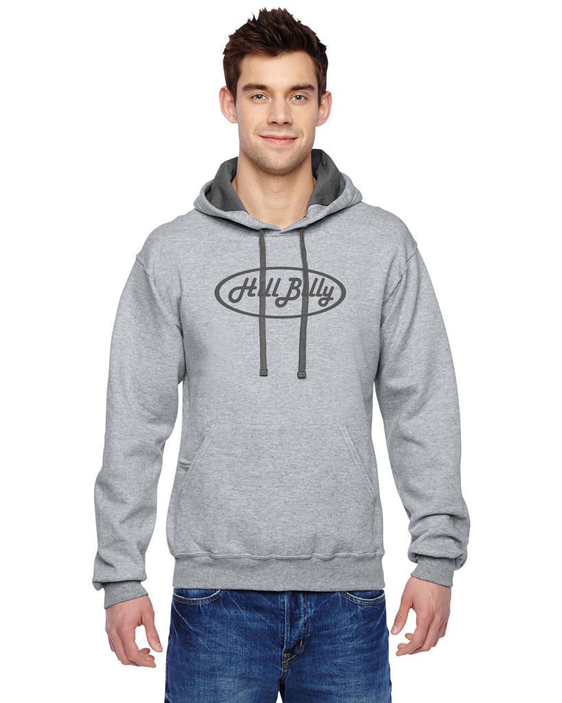 HillBilly Heather Gray Hoodie Sweatshirt
