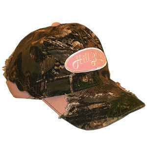 HillBilly RealTree Camo Fray Pink Trucker Hat