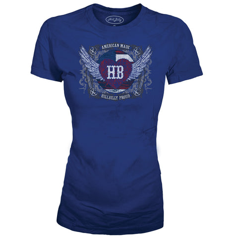 Women's American Made Country T Shirt