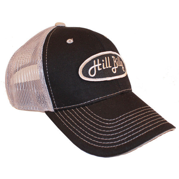 black gray mesh redneck trucker hats