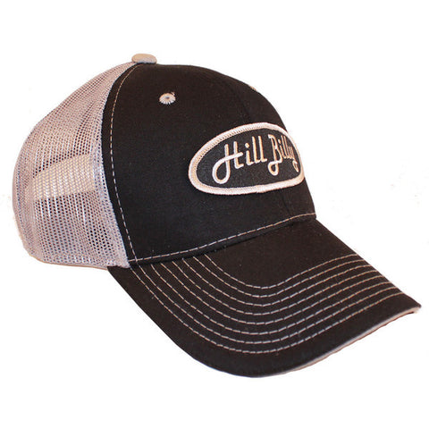 Black and Gray Mesh Trucker Hat