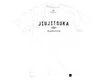 Load image into Gallery viewer, Jiujitsuka Flagship Tee in Classic White