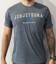 Load image into Gallery viewer, Jiujitsuka Flagship Tee Antique Denim