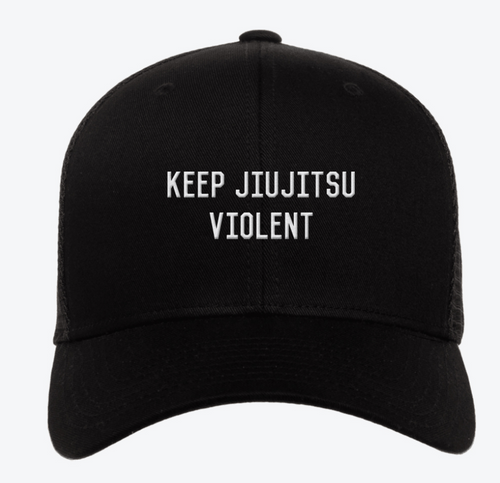 Keep Jiujitsu Violent Hat