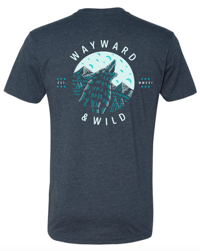 Wild Wolf T - 3rd Place T-shirt Design Competition Winner *Pre-Order*