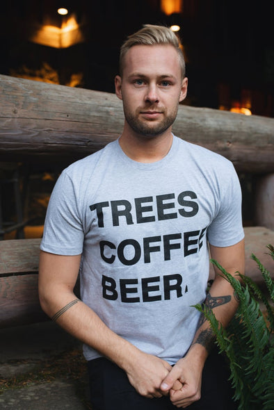 TREES COFFEE BEER T Shirt