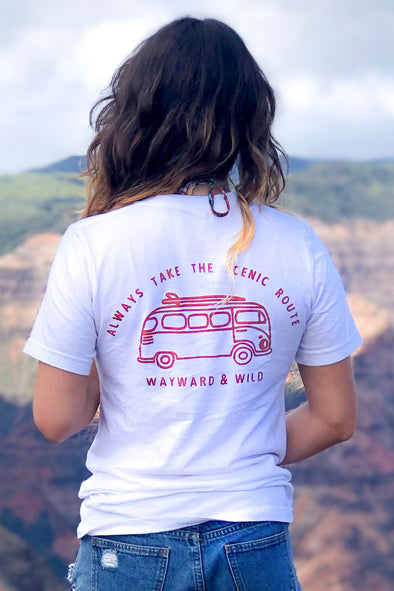 Scenic Route Bus T Shirt - LAST CHANCE
