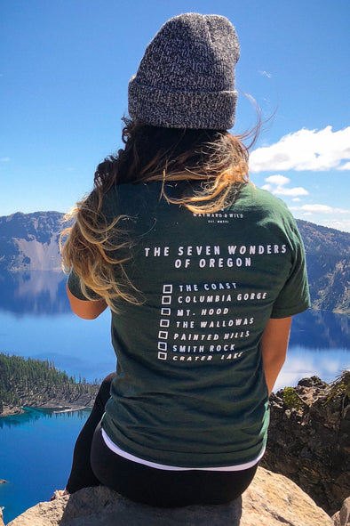 Seven Wonders of Oregon T. This shirt gives back!