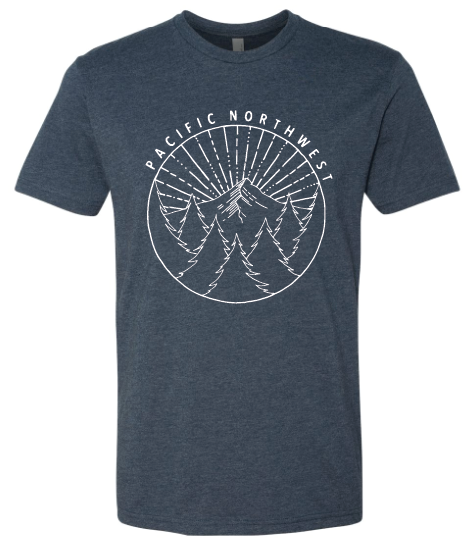 Pacific Northwest Sunburst T.