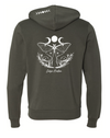 Luna Moth - Zip Up AND Hoodie