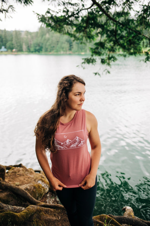 Mountain Views - Women's Muscle Tank