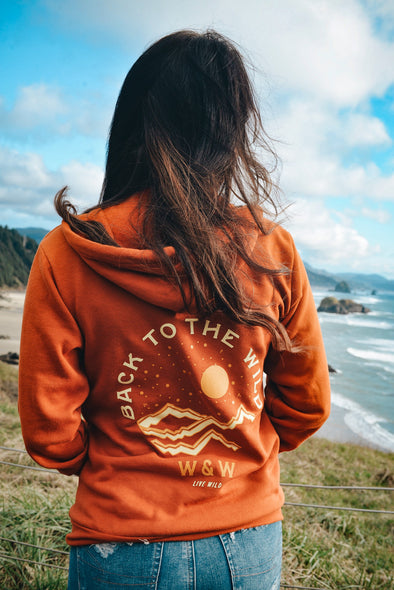 Back to the Wild Zip-Up Hoodie *NEW*