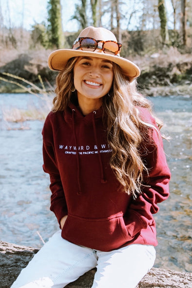 Crafted in the Pacific Northwest Embroidered Hoodie