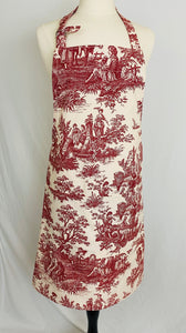 Classic Adult -Classy Red Toile