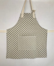 Load image into Gallery viewer, The Younger Creative Soul - Polka Dot Linen with Contrasting Pocket