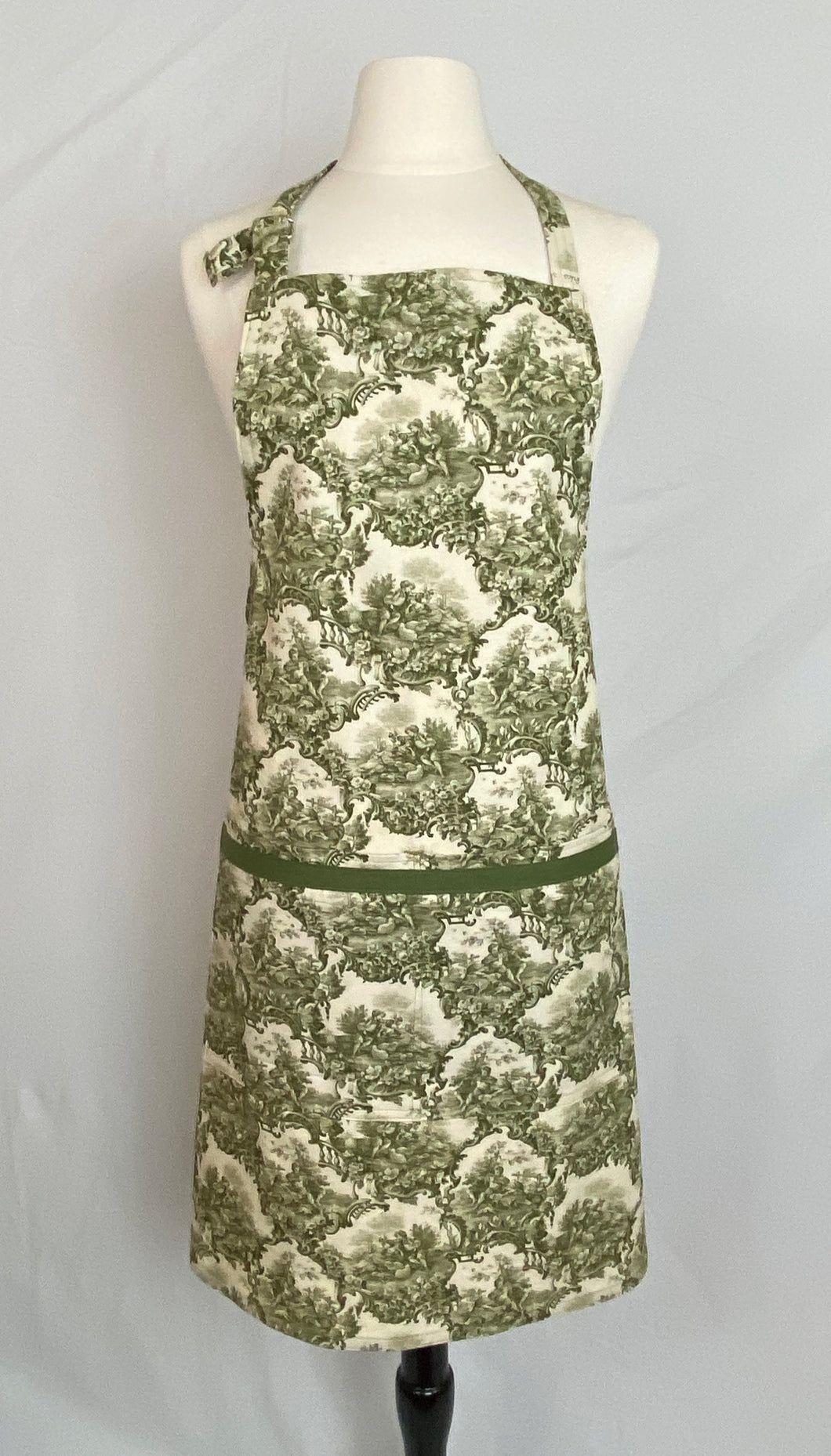 Classic Adult - Green Toile