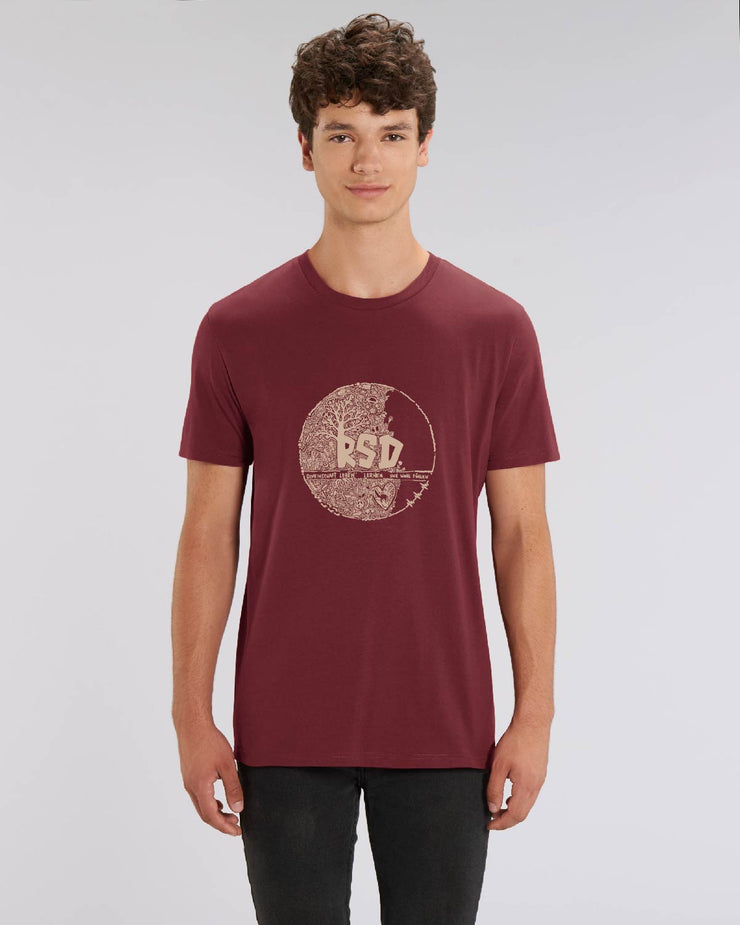 RSD MEN T-SHIRT BURGUNDY