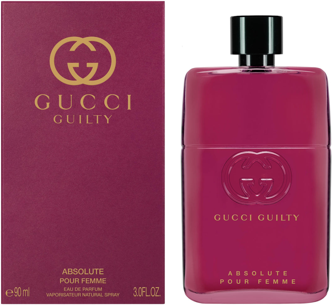 Gucci Guilty Absolute Pour Femme 90ML EDP Spray (W)