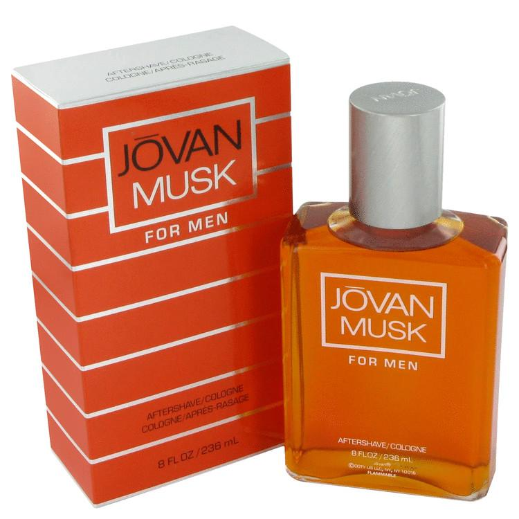 Jovan Musk 236ML After Shave Cologne (M)