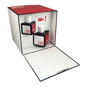 Lacoste Live 2PCS Gift Set - 100ML EDT Spray + 40ML EDT Spray (Men)