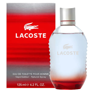 Lacoste (Red) Style & Play EDT Spray (M)