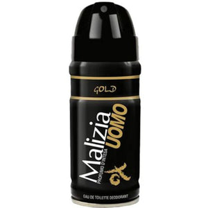 Vetyver Malizia Uomo Gold 150ML Deodorant Spray (M)