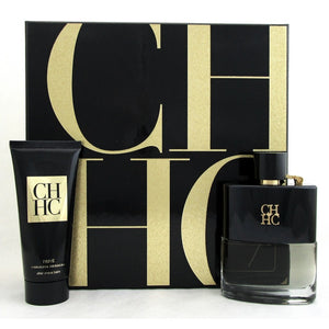 Carolina Herrera CH Prive Gift Set - 100ML EDT Spray + 100ML After Shave Balm (Men)