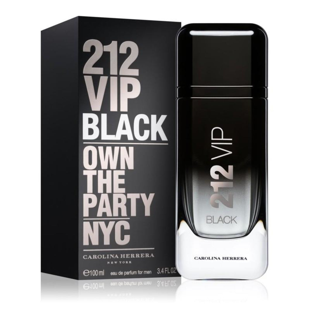 Carolina Herrera 212 Vip Black Own The Party Nyc 100Ml Edp Spray (M)