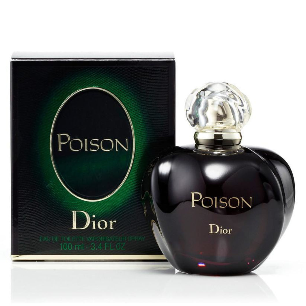 Christian Dior Poison 100Ml Edt Spray (W)