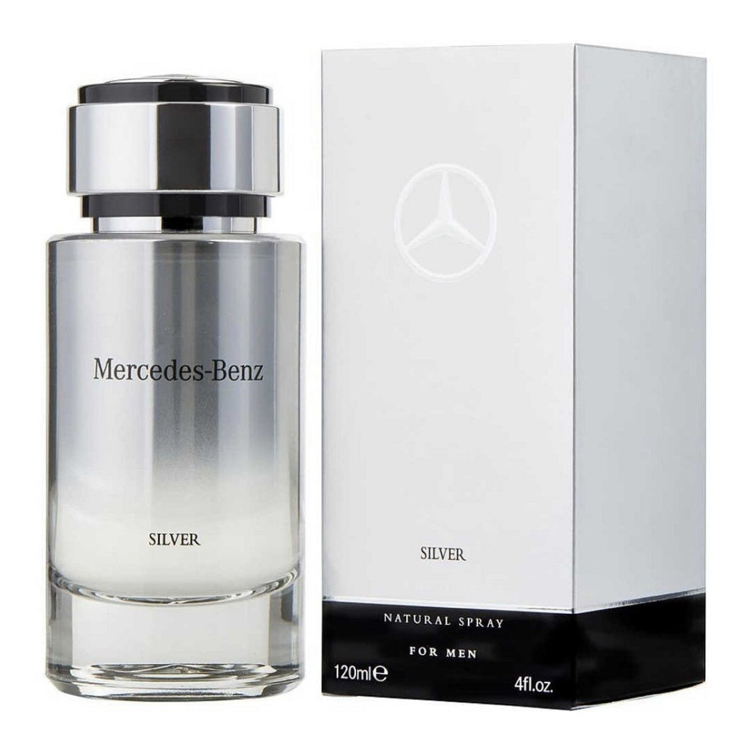 Mercedes Benz Silver 120Ml Edt Spray (M)