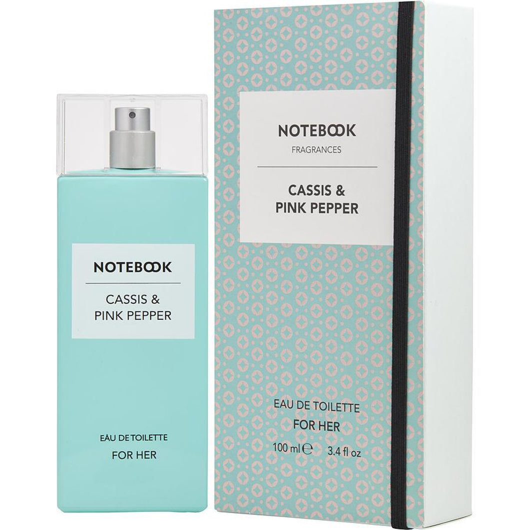 Notebook Cassis & Pink Pepper 100Ml Edt Spray (W)