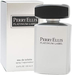 Perry Ellis Platinum Label 100Ml Edt Spray (M)