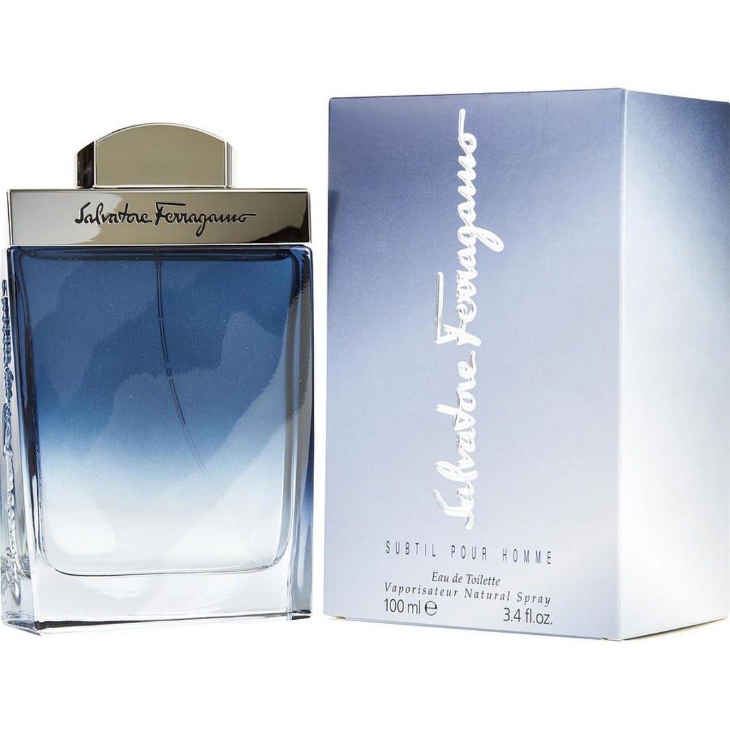 Salvatore Ferragamo Subtil 100Ml Edt Spray (M)