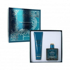 Versace Eros 2Pcs Gift Set 100Ml Edt Spray + 150Ml Shower Gel (Men)