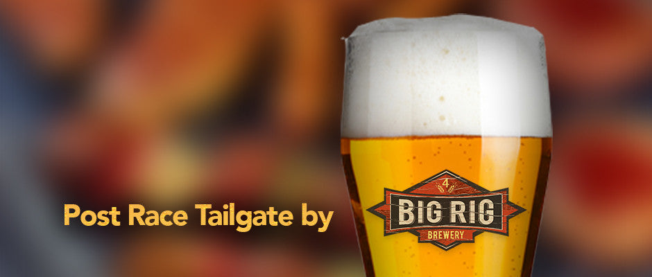 Tailgate party at Big Rig
