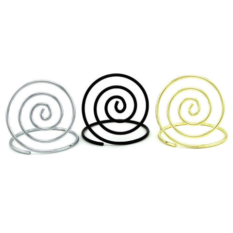 Spiral Place Card Holder